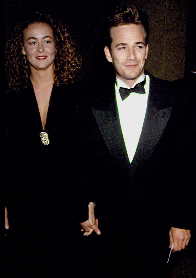 Luke Perry Through the Years - The Incredible Hulk alum married Sharp in 1993.