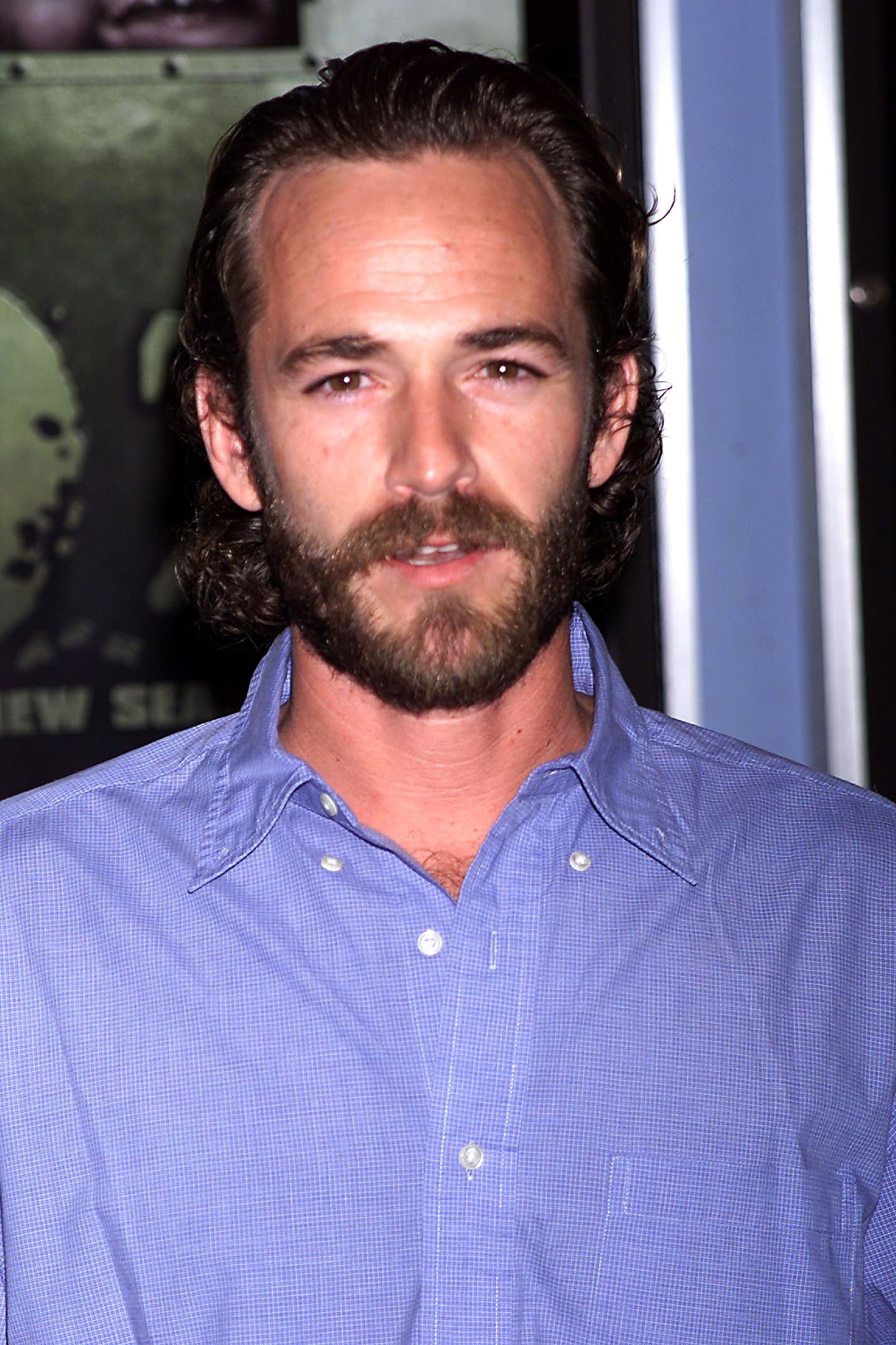 Luke Perry Through the Years - The Ohio native transitioned to more adult content, starring on HBO's Oz as Reverend Jeremiah Cloutier from 2001 to 2002.