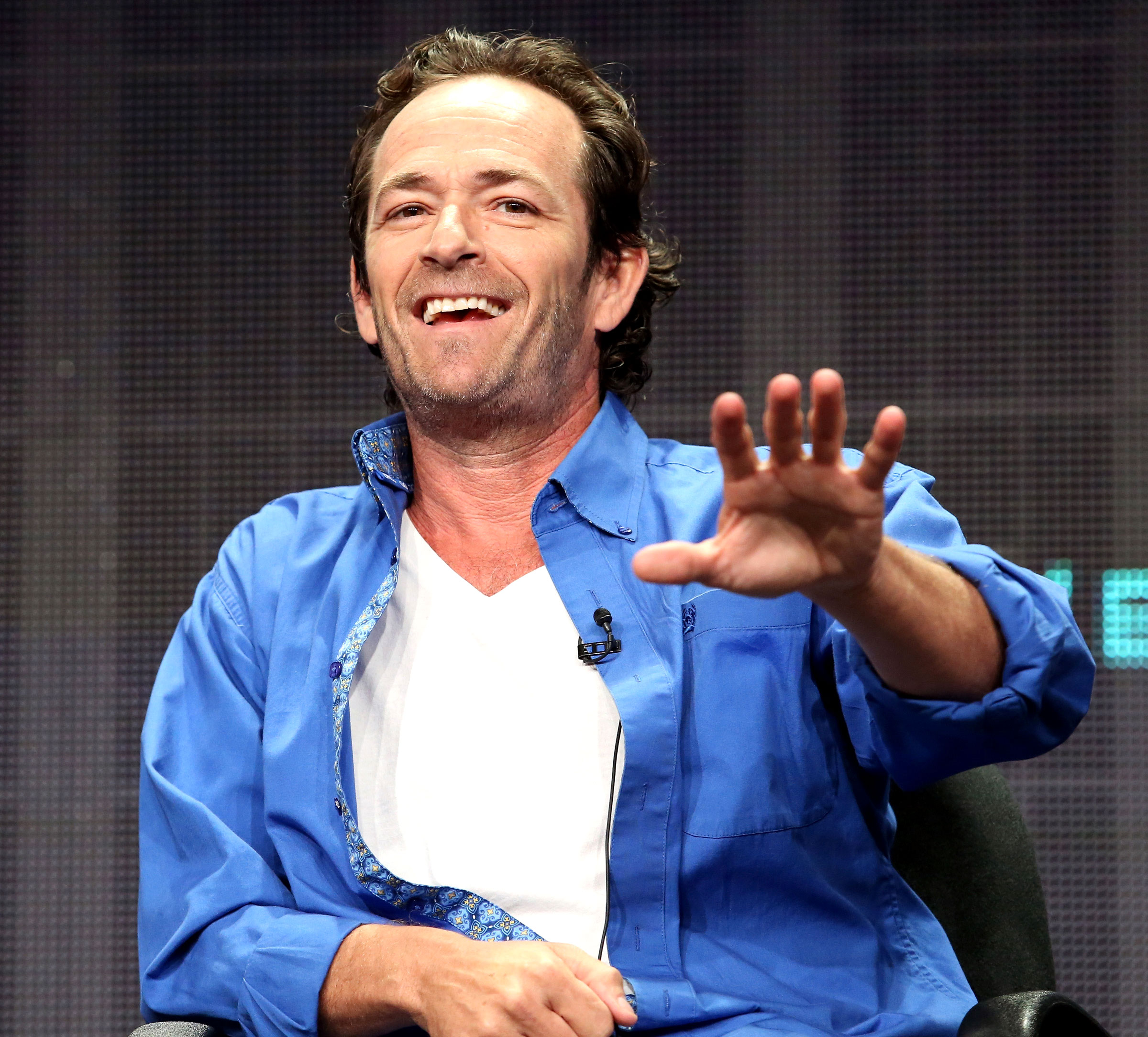 Luke Perry Through the Years - He revealed to Fox News in March 2017 that he had precancerous growths removed after the anomalies were discovered during a 2015 colonoscopy.
