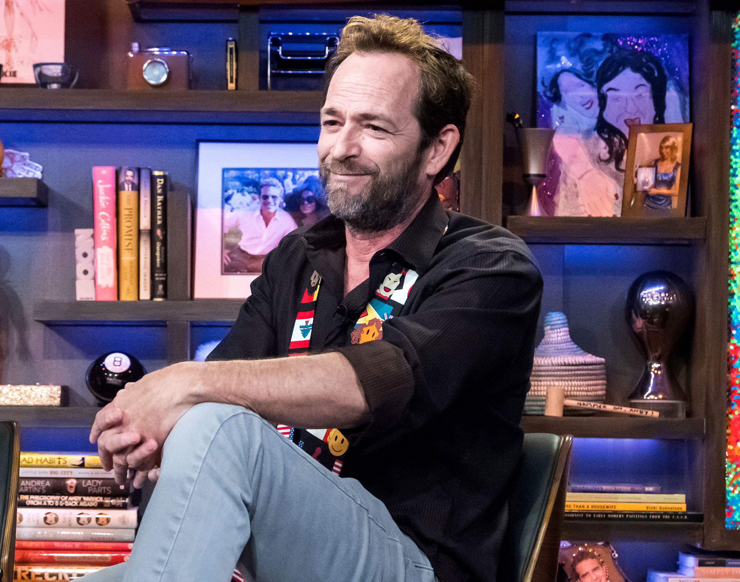 "Luke Perry Through the Years - Us confirmed in February 2019 that the veteran actor suffered a massive stroke at his L.A. home. ""Mr. Perry is currently under observation at the hospital,"" his rep told Us at the time."