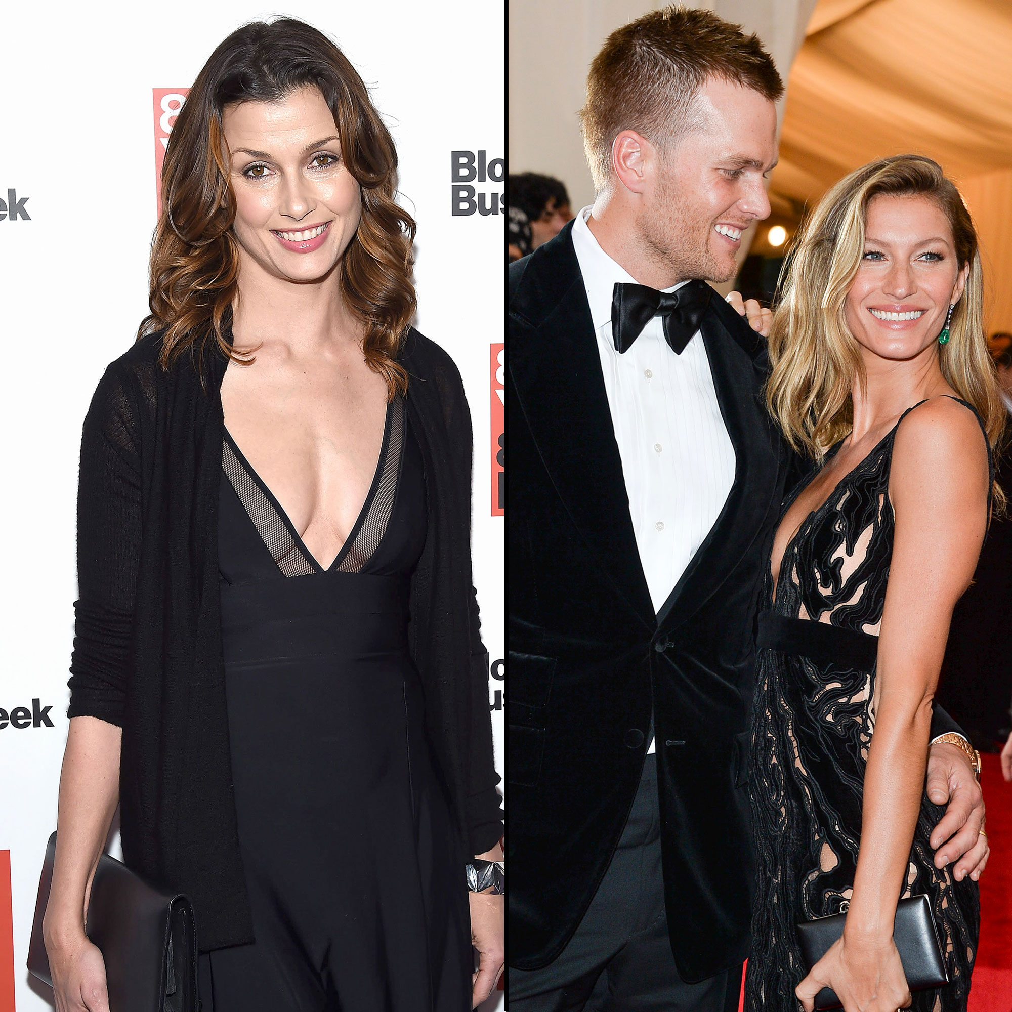 Look Back at Tom Brady and Bridget Moynahan's Rocky Relationship - After years of speculation that there was animosity between Moynahan, Brady and Bündchen, the trio was spotted together at the park in New York City in May 2014.