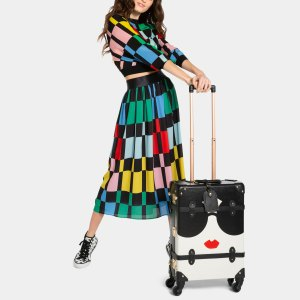 Alice + Olivia Teamed Up With SteamLine Luggage on the Cutest Travel Collection