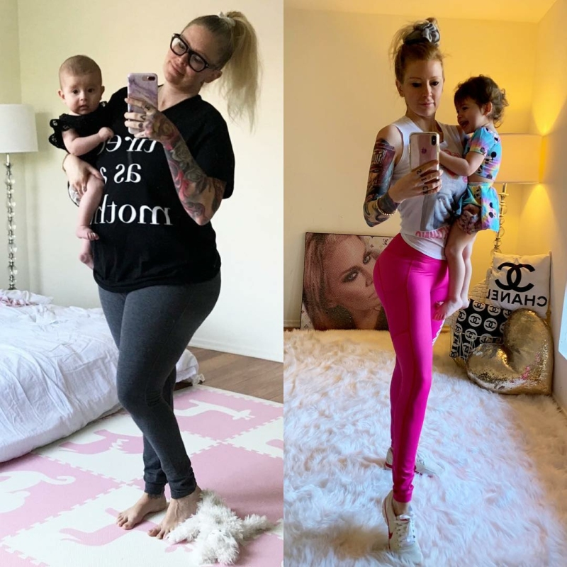 Jenna Jameson Lost 80 Pounds Post-Baby: Pictures, Diet Tips