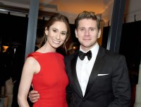 Allen Leech and Jessica Blair Herman-celebrity-weddings-2019