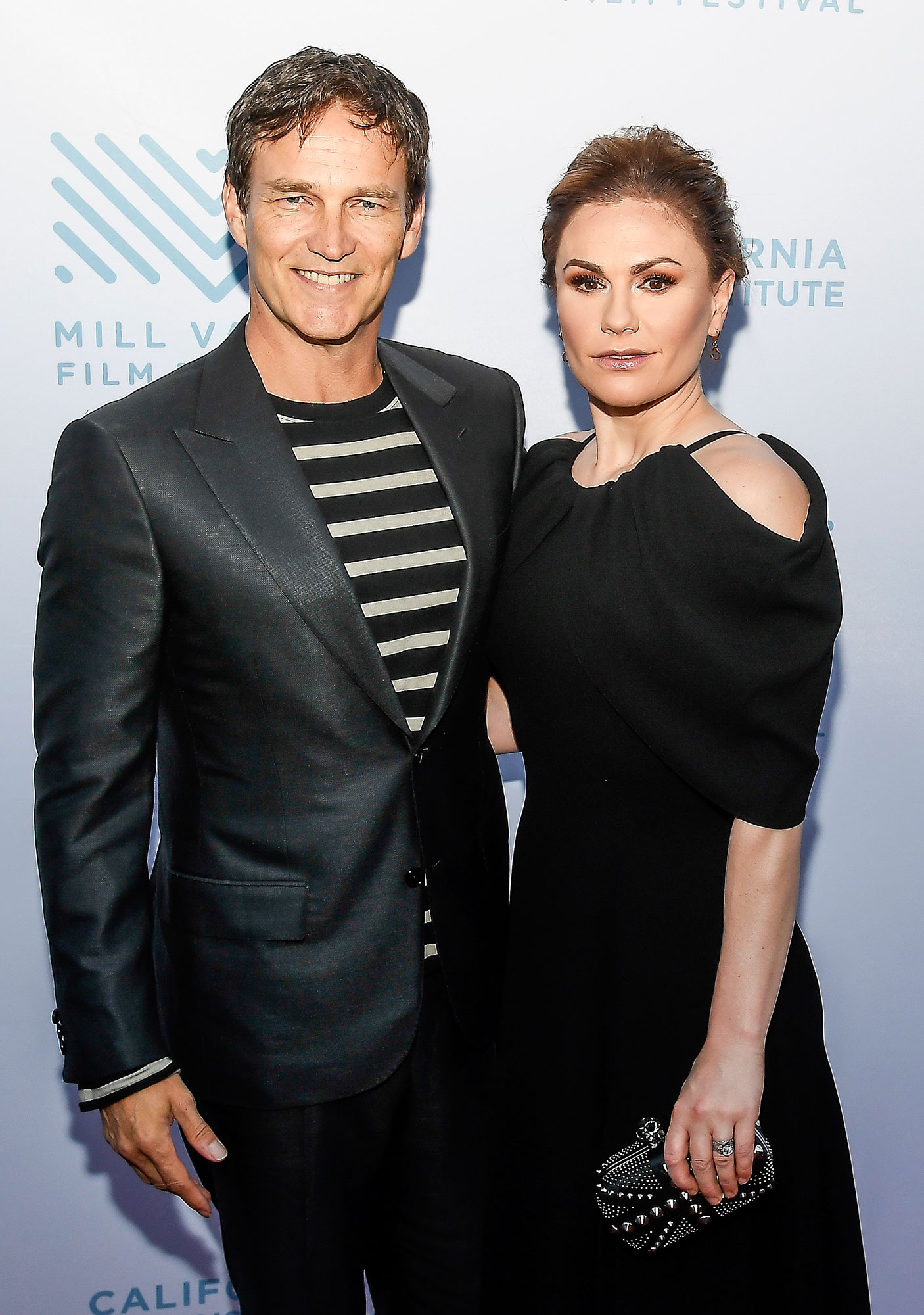 Anna Paquin Says She and Husband Stephen Moyer Are 'Best Friends' - (L-R) Actor & Director Stephen Moyer and Actress Anna Paquin attend the Premiere of 'The Parting Glass' at the 41st Mill Valley Film Festival at Sequoia Theater on October 6, 2018 in Mill Valley, California.