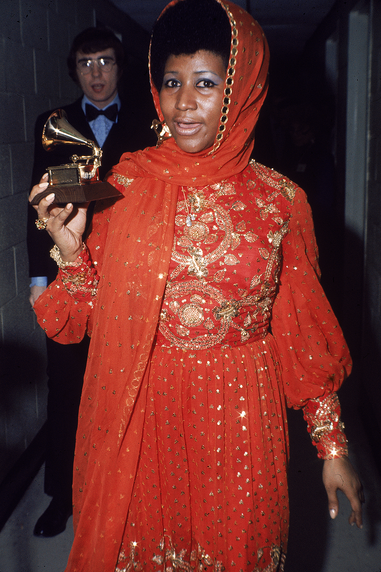 Aretha-Franklin-grammy-awards - Aretha Franklin won Best Female R&B Vocal Performance for every year between 1968 and 1975 — then triumphed in the category again in 1982, 1986 and 1988.
