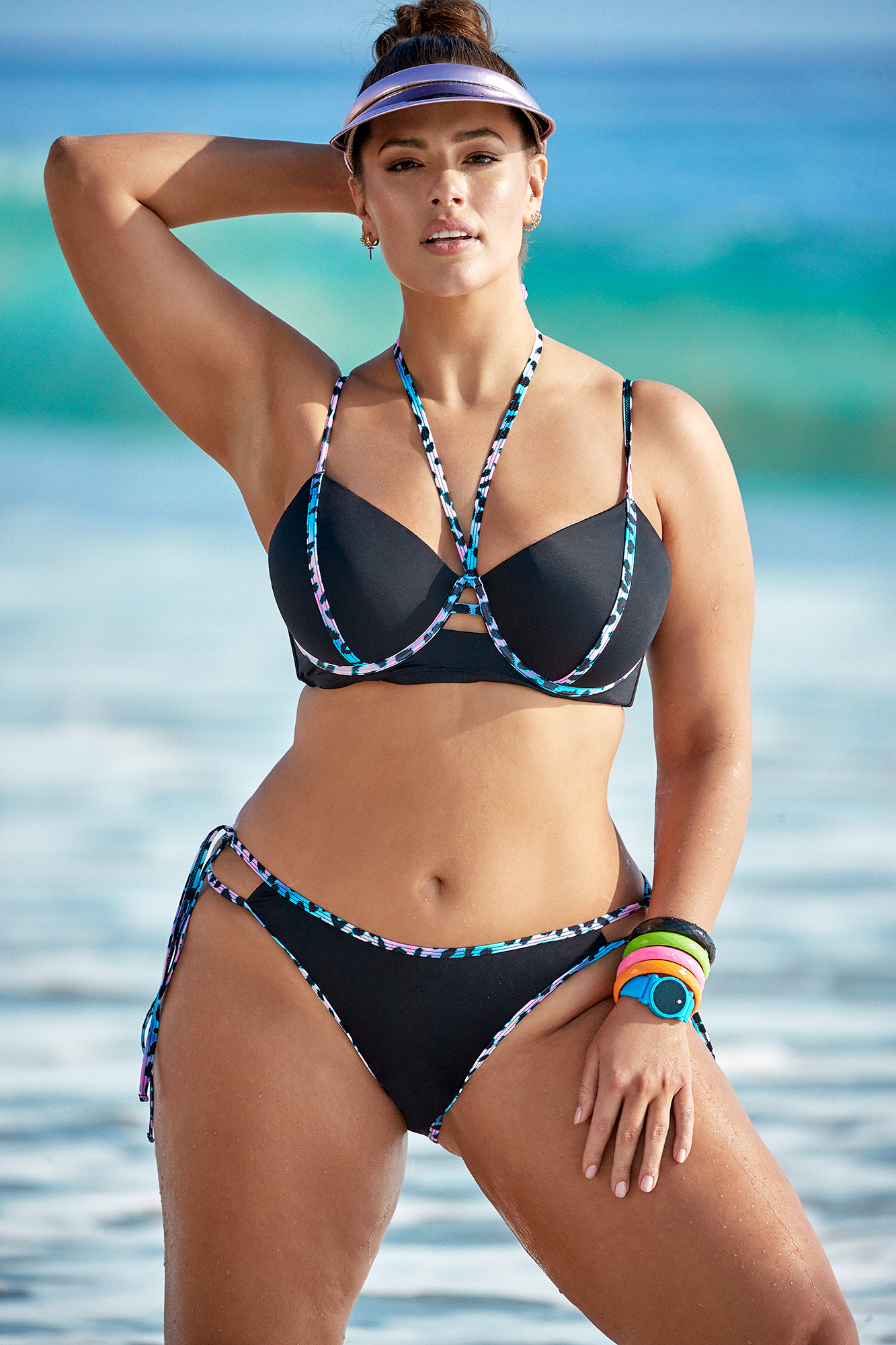 ab6d5b0e07f5b Ashley Graham x Swimsuits For All Resort 2019 Campaign: Pics