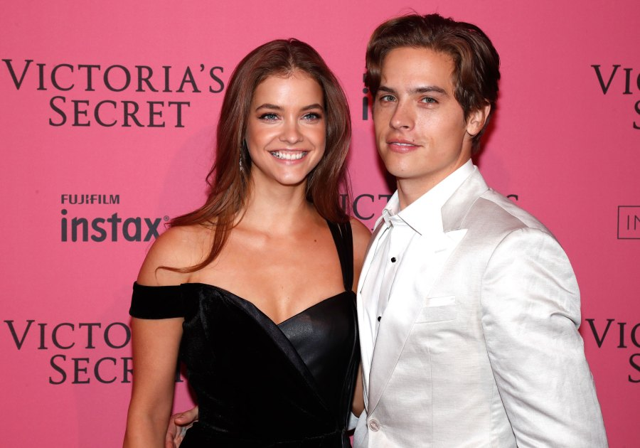 Celeb Couples and How They First Met Dylan Sprouse and Barbara Palvin
