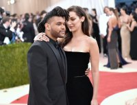 Bella Hadid and 'Daddy' The Weeknd Celebrate His 29th Birthday With Matching Camo Outfits