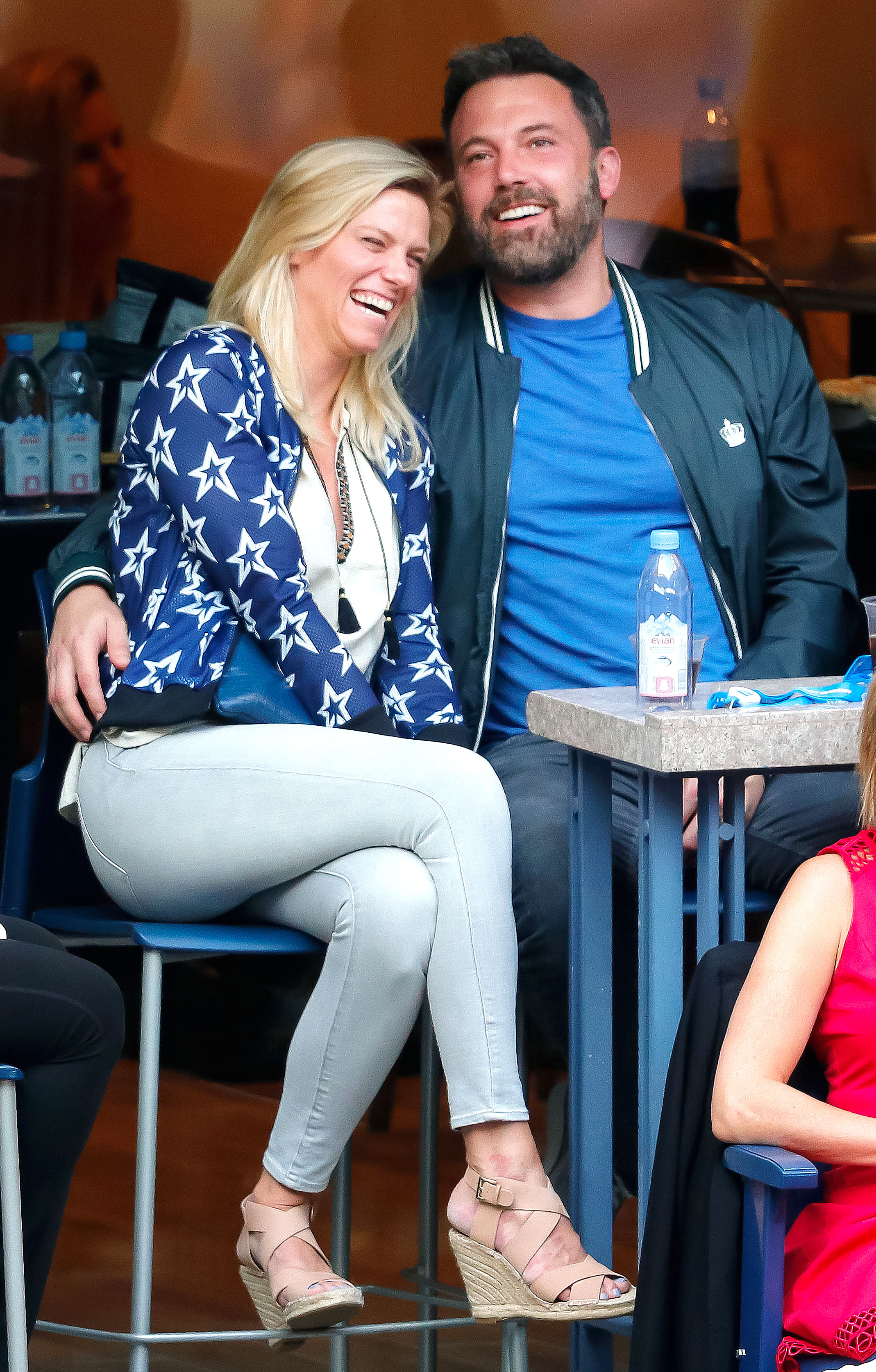 Lindsay Shookus 'Reached Out' to Ben Affleck: 'They've Been Talking' Again - Lindsay Shookus and Ben Affleck attend the 2017 US Open Tennis Championships at Arthur Ashe Stadium on September 10, 2017 in New York City.