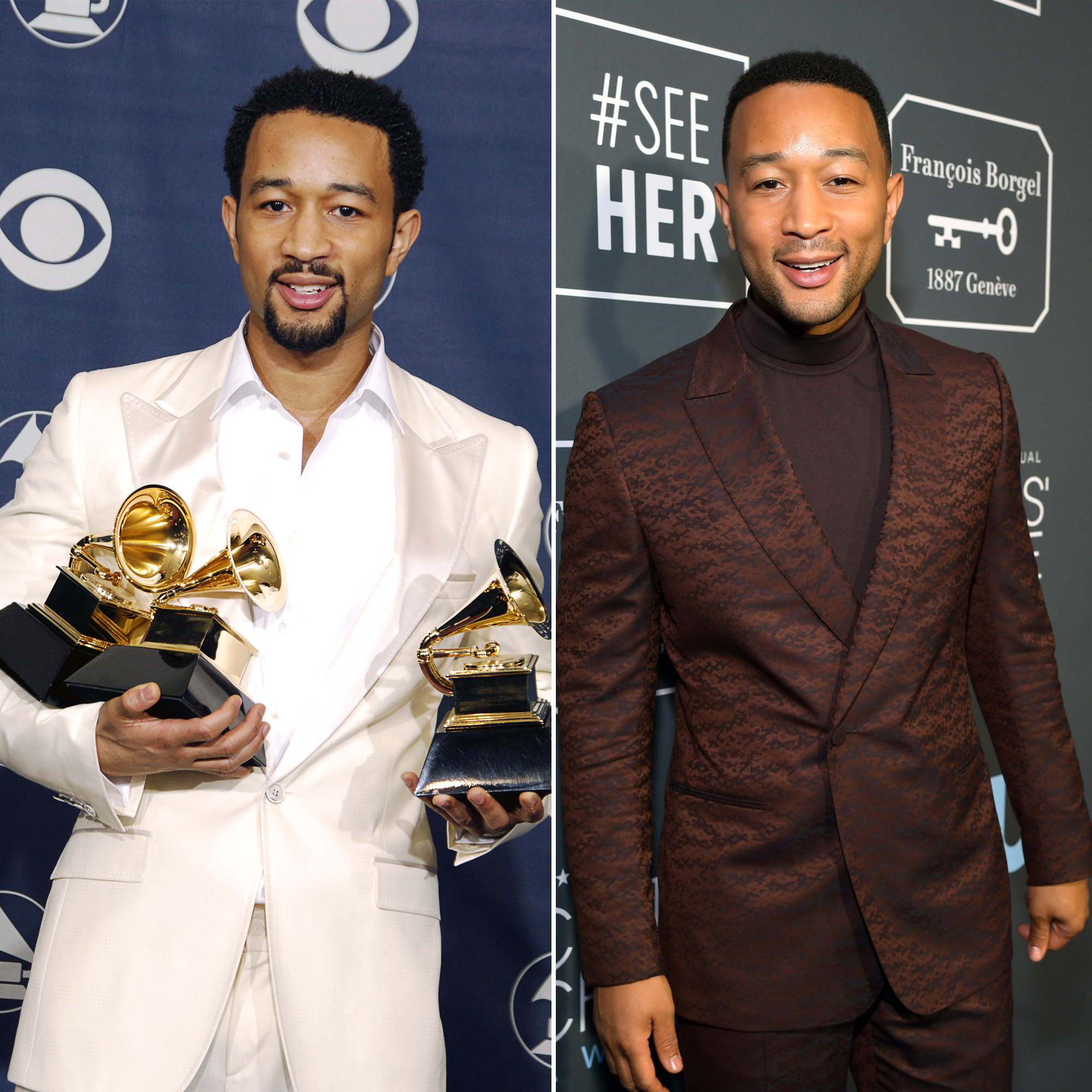Best New Artist Grammy Winners Where Are They Now - Who He Beat: Ciara, Fall Out Boy, Keane, Sugarland Where Is He Now: Legend has released five albums since his Grammy-winning 2004 album, Get Lifted. The singer made history in September 2018 after he became the first African American man to become an EGOT winner, which includes his 10 Grammy awards.