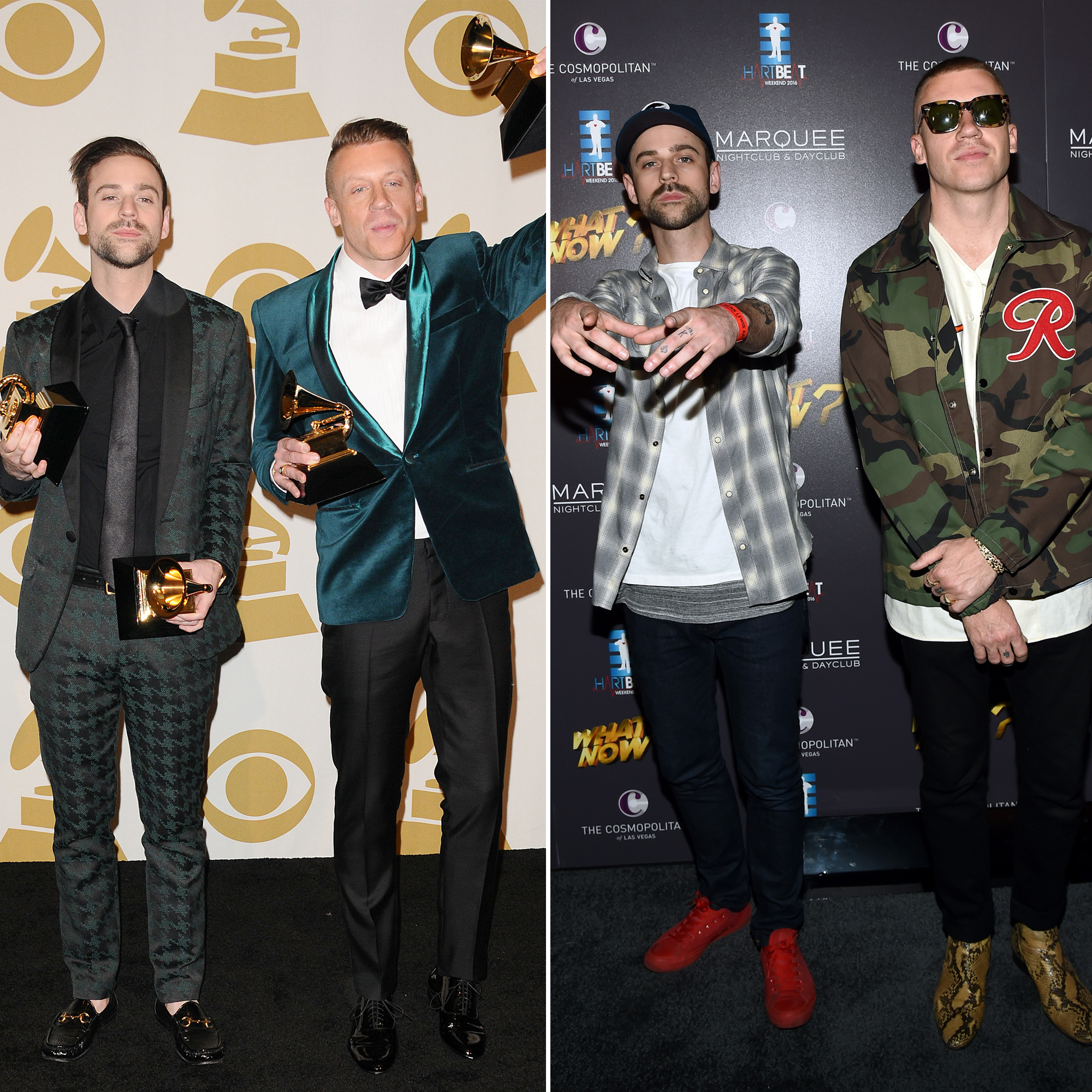 Best New Artist Grammy Winners Where Are They Now - Who They Beat: James Blake, Kendrick Lamar, Kacey Musgraves, Ed Sheeran Where Are They Now: After winning four Grammy Awards — including Best New Artist — in 2014, Macklemore & Ryan Lewis spent the next two years working on their second album, The Unruly Mess I've Made. In 2017, Macklemore announced the duo were on hiatus and released his first solo album since 2005.