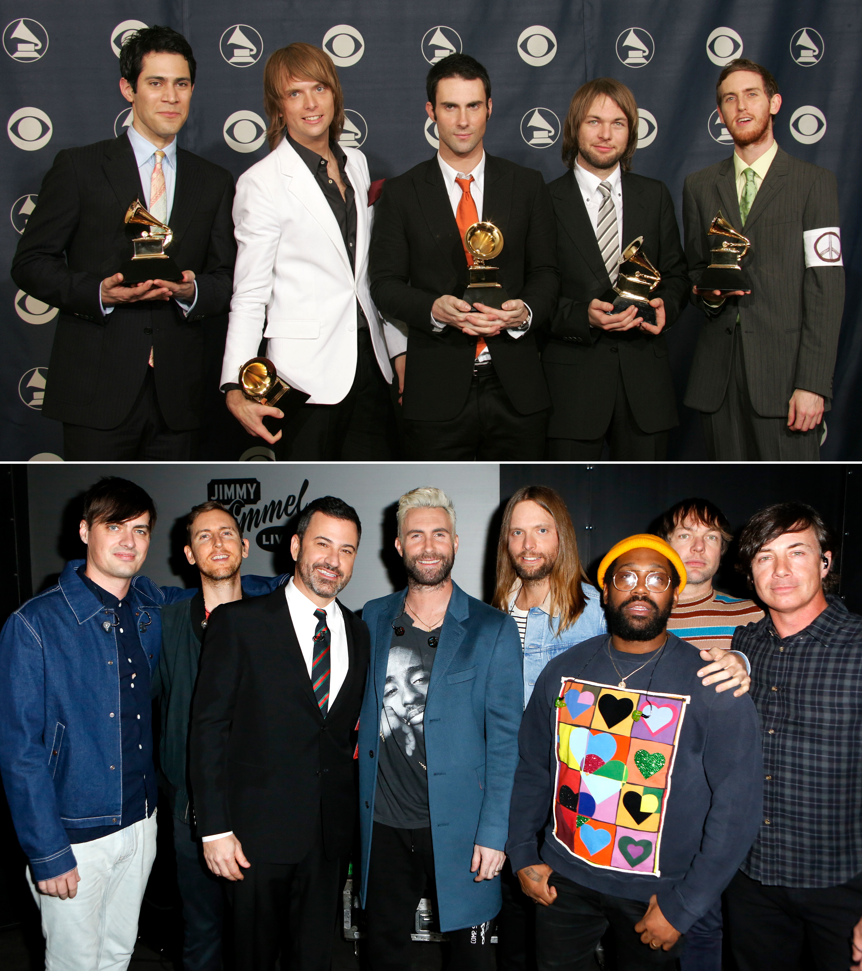 Best New Artist Grammy Winners Where Are They Now - Who They Beat: Los Lonely Boys, Joss Stone, Kanye West, Gretchen Wilson Where Are They Now: After drummer Ryan Dusick left the band in 2006, Matt Flynn replaced him. Jesse Carmichael also took a hiatus from the group in 2012, but rejoined in 2014.