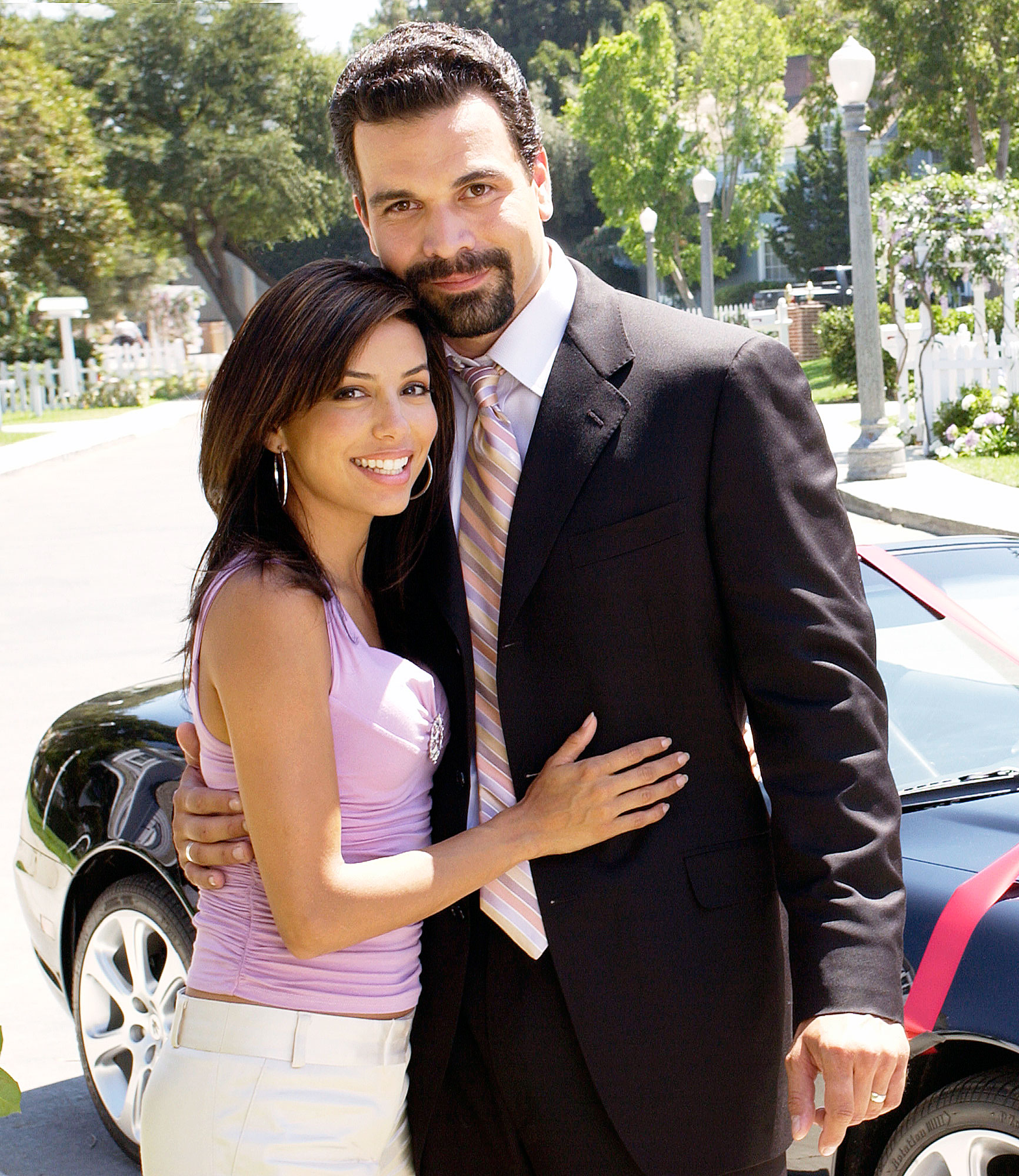 Best TV Couples Desperate Housewives Ricardo Antonio Chavira Eva Longoria - Show: Desperate Housewives Actors: Ricardo Antonio Chavira and Eva Longoria Network: ABC Seasons: 8