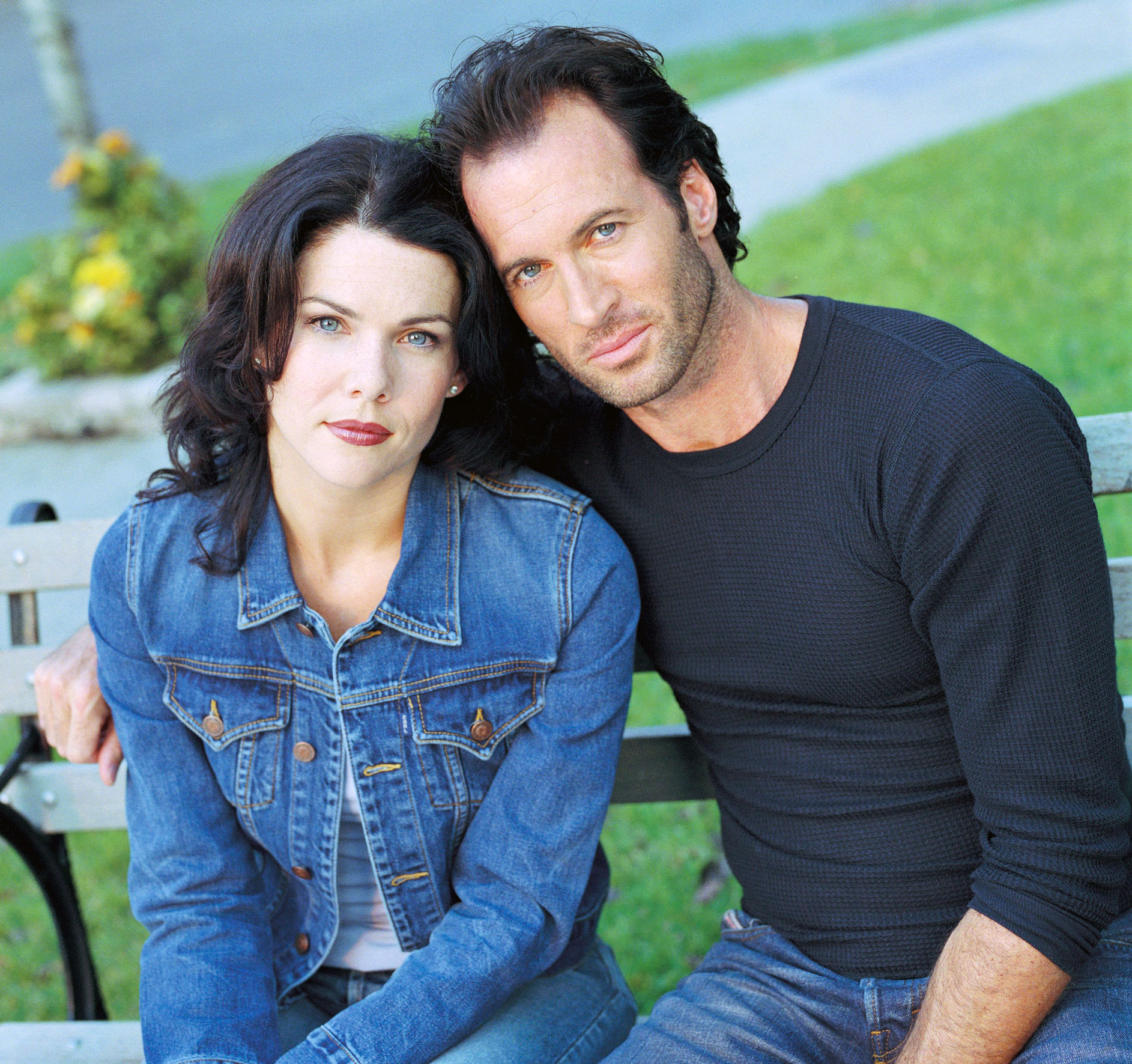 Best TV Couples Gilmore Girls Lauren Graham Scott Patterson - Show: Gilmore Girls Actors: Lauren Graham and Scott Patterson Networks: The WB and The CW Seasons: 7