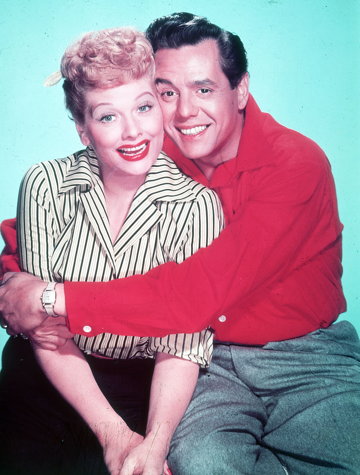 Best TV Couples I Love Lucy Lucille Ball Desi Arnaz - Show: I Love Lucy Actors: Lucille Ball and Desi Arnaz Network: CBS Seasons: 6