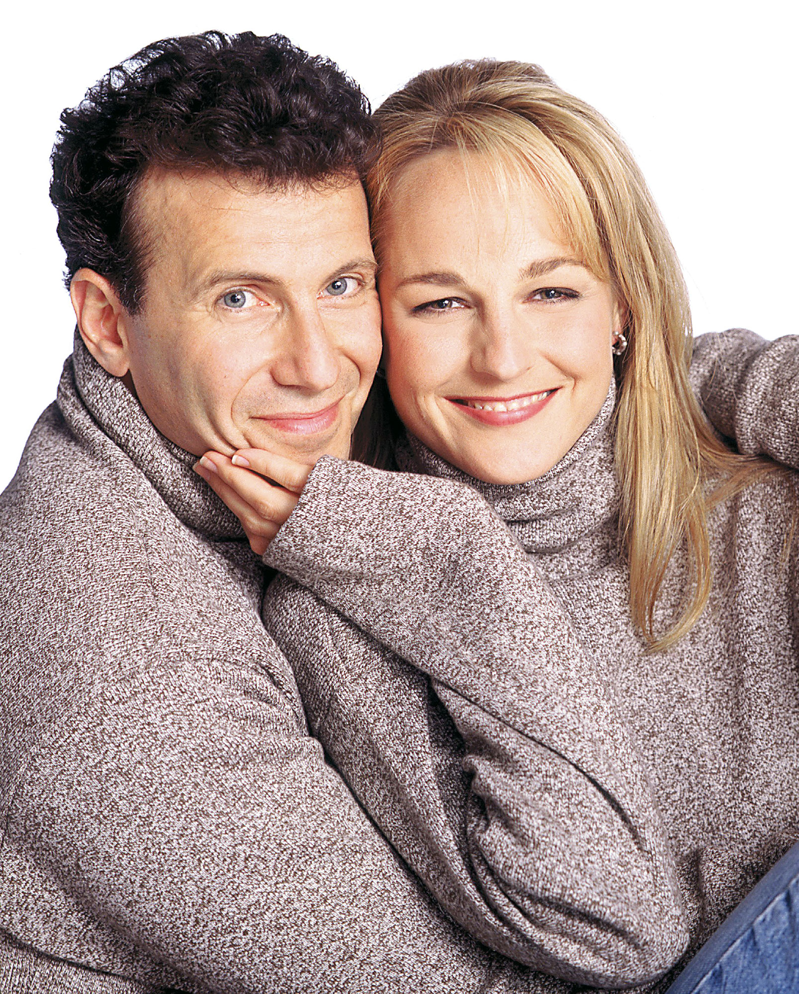 Best TV Couples Mad About You Paul Reiser Helen Hunt - Show: Mad About You Actors: Paul Reiser and Helen Hunt Network: NBC Seasons: 7