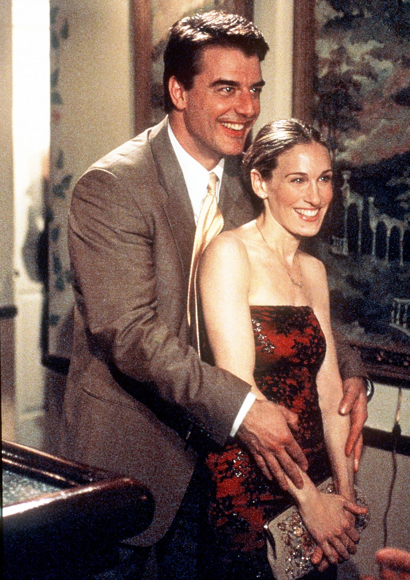 Best TV Couples Sex and the City Chris Noth Sarah Jessica Parker - Show: Sex and the City Actors: Christopher Noth and Sarah Jessica Parker Network: HBO Seasons: 6