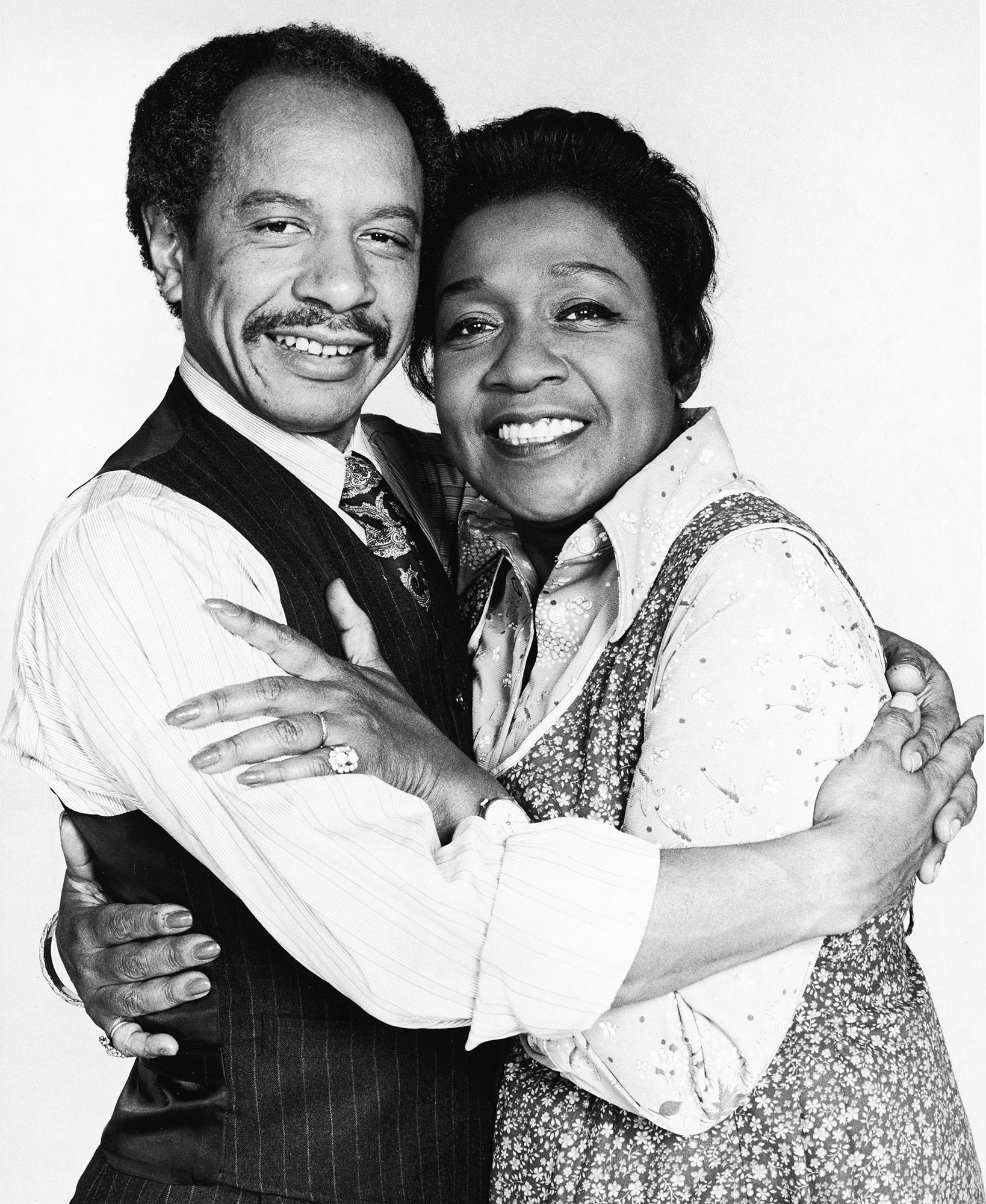 Best TV Couples The Jeffersons Sherman Hemsley Isabel Sanford - Show: The Jeffersons Actors: Sherman Hemsley and Isabel Sanford Network: CBS Seasons: 11