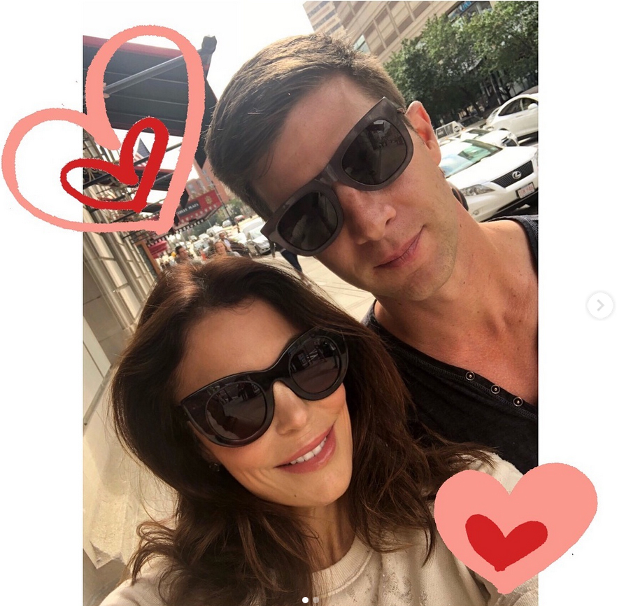 Bethenny-Frankel-Spends-Valentine's-Day-With-Boyfriend-Paul-Bernon - The duo, who have been dating since October, spent their first Valentine's Day together on February 14, 2019, snapping smiling selfies and snuggling up to each other. The Real Housewives of New York City star shared the photos with fans on Instagram .