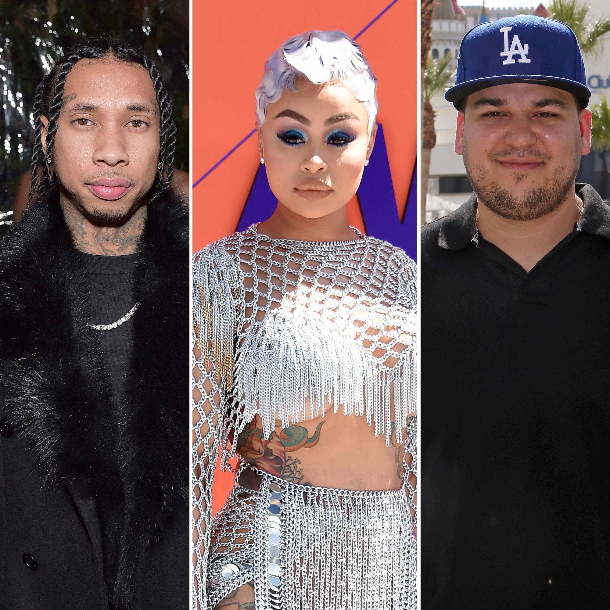 Blac Chyna Rants About Exes Tyga, Rob Kardashian: 'I Never Asked … for - Tyga, Blac Chyna, and Rob Kardashian