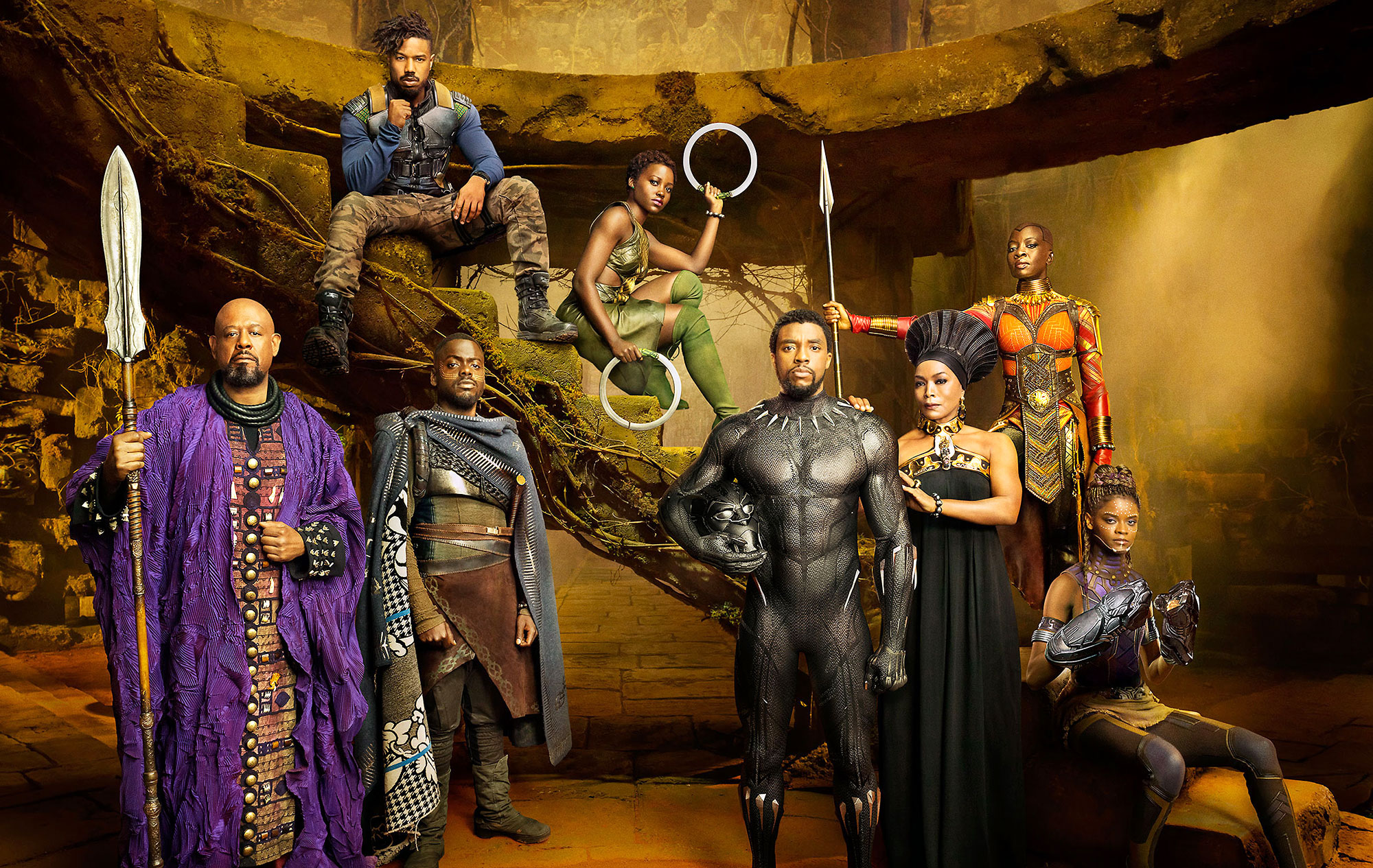 Oscars Winners List Prep - Black Panther Bohemian Rhapsody First Man Roma A Star Is Born