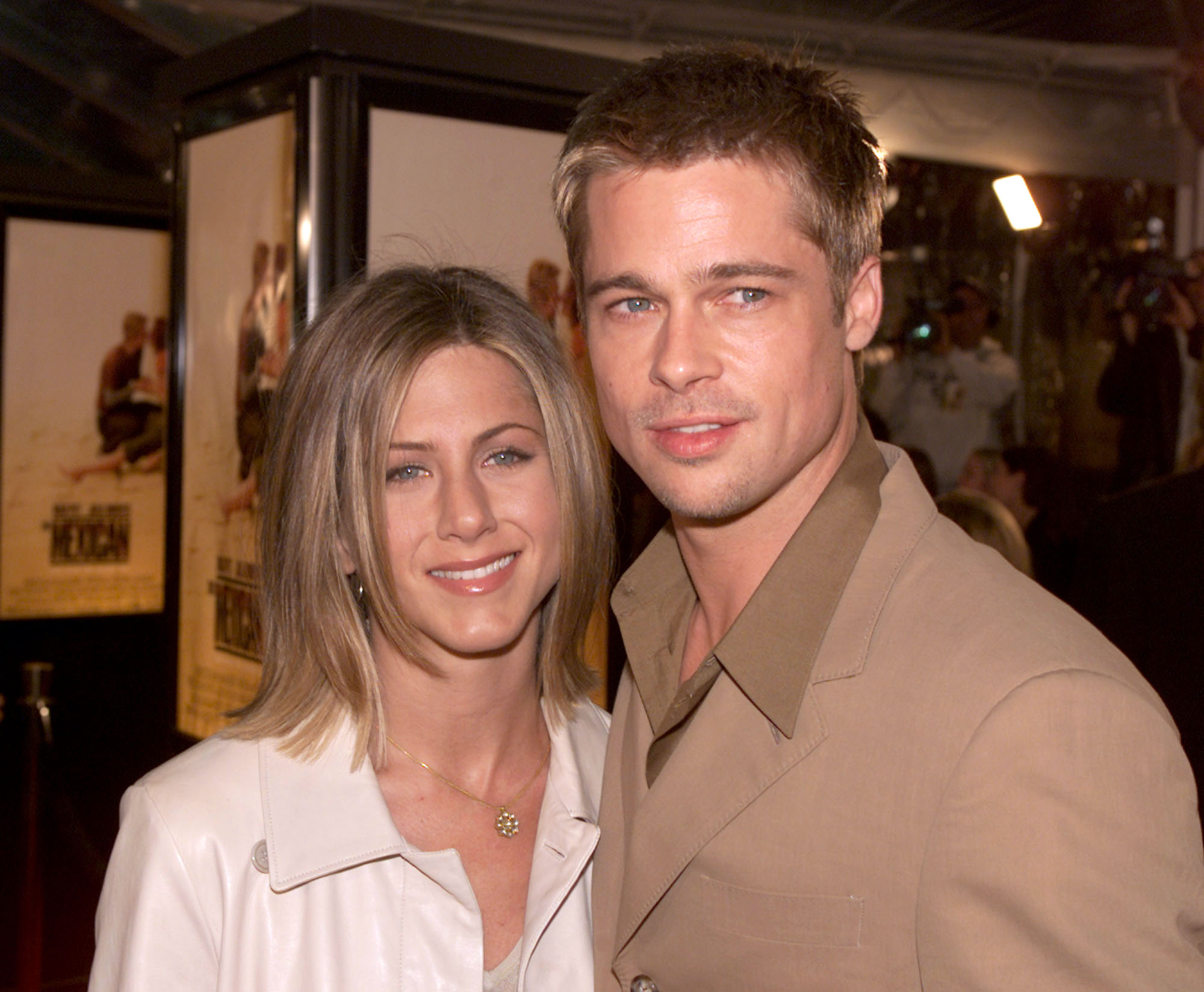 """Brad Pitt and Jennifer Aniston Relationship Timeline - After months of rumors that Pitt cheated with Jolie while filming their action movie — which the actor has denied over the years — he and Aniston announced their separation in a joint statement, noting that the decision was """"not the result of any speculation reported by the tabloid media."""""""