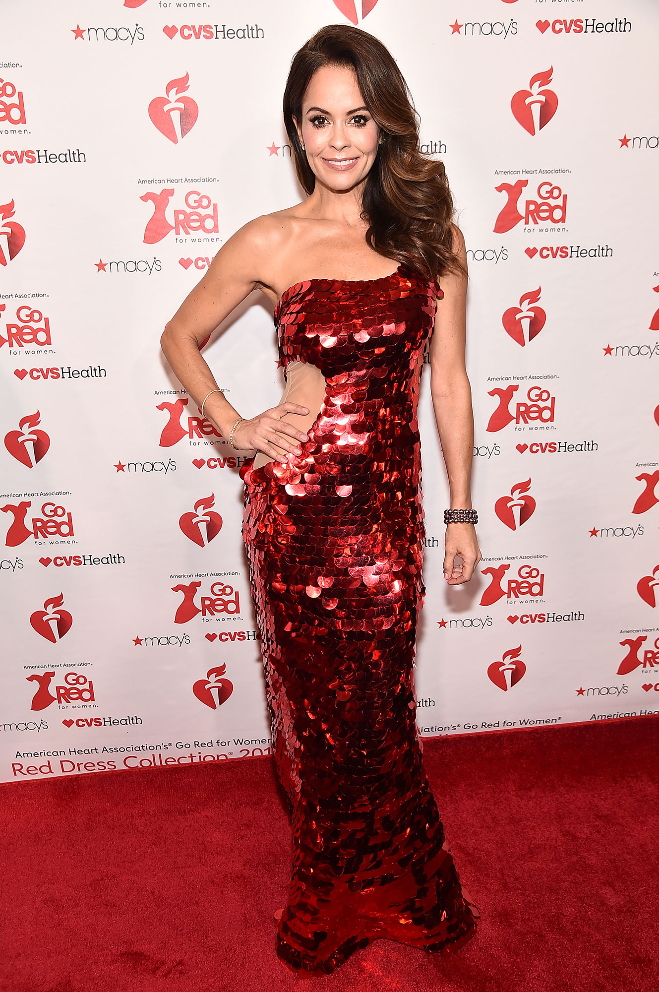 Brooke Burke Reveals Key to Parenting 4 Kids - Brooke Burke attends The American Heart Association's Go Red For Women Red Dress Collection 2019 Presented By Macy's at Hammerstein Ballroom on February 7, 2019 in New York City.