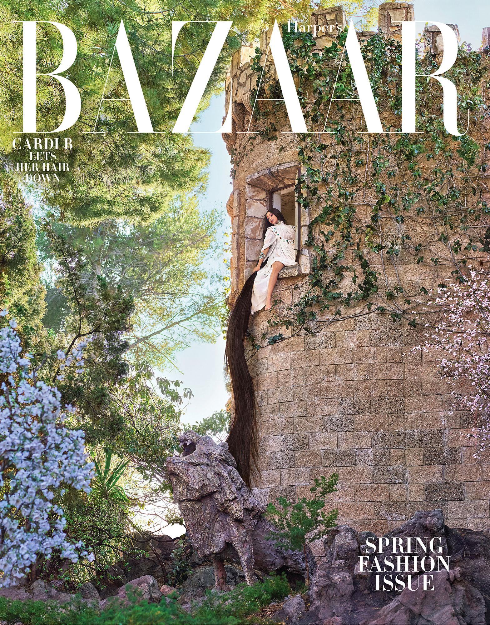 Cardi B Harper's Bazaar Postpartum Depression Kulture