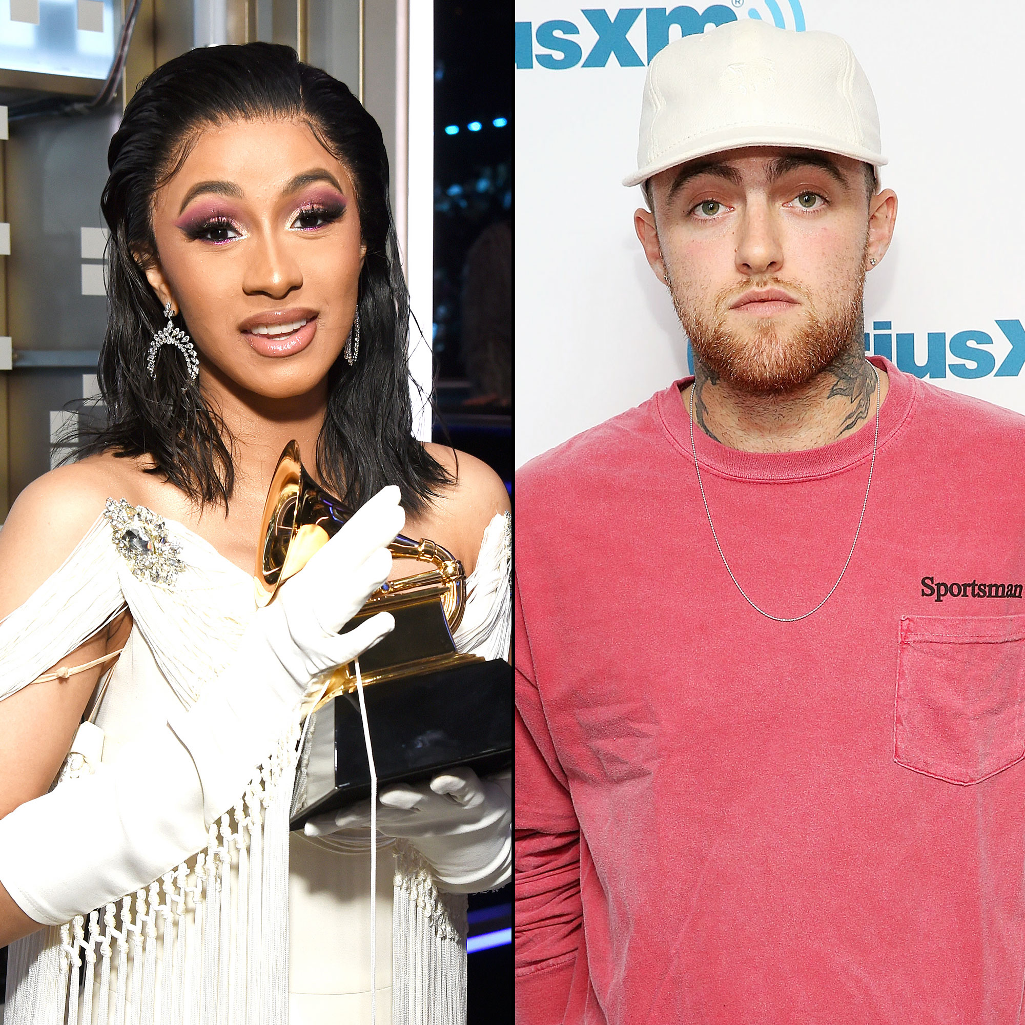 Cardi B Is 'Sharing' Her Best Rap Album Grammy With the Late Mac Miller