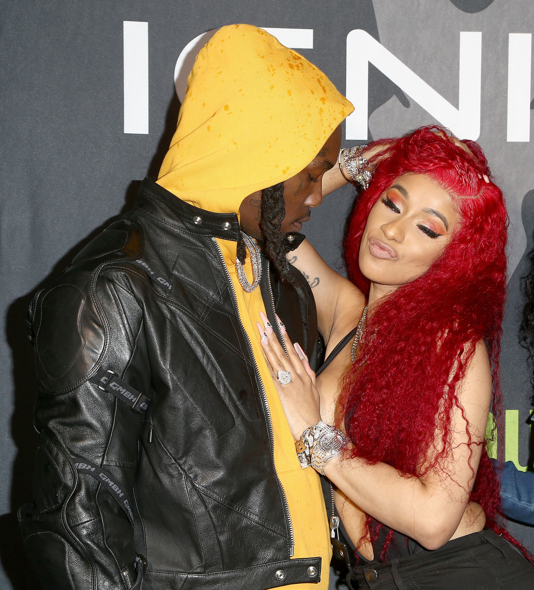 Cardi B Puts Wedding Ring Back on Following Brief Split from Husband Offset - Offset and Cardi B attend Ignite Angels and Devils Pre-Valentine's Day Party on February 13, 2019 in Bel Air, California.