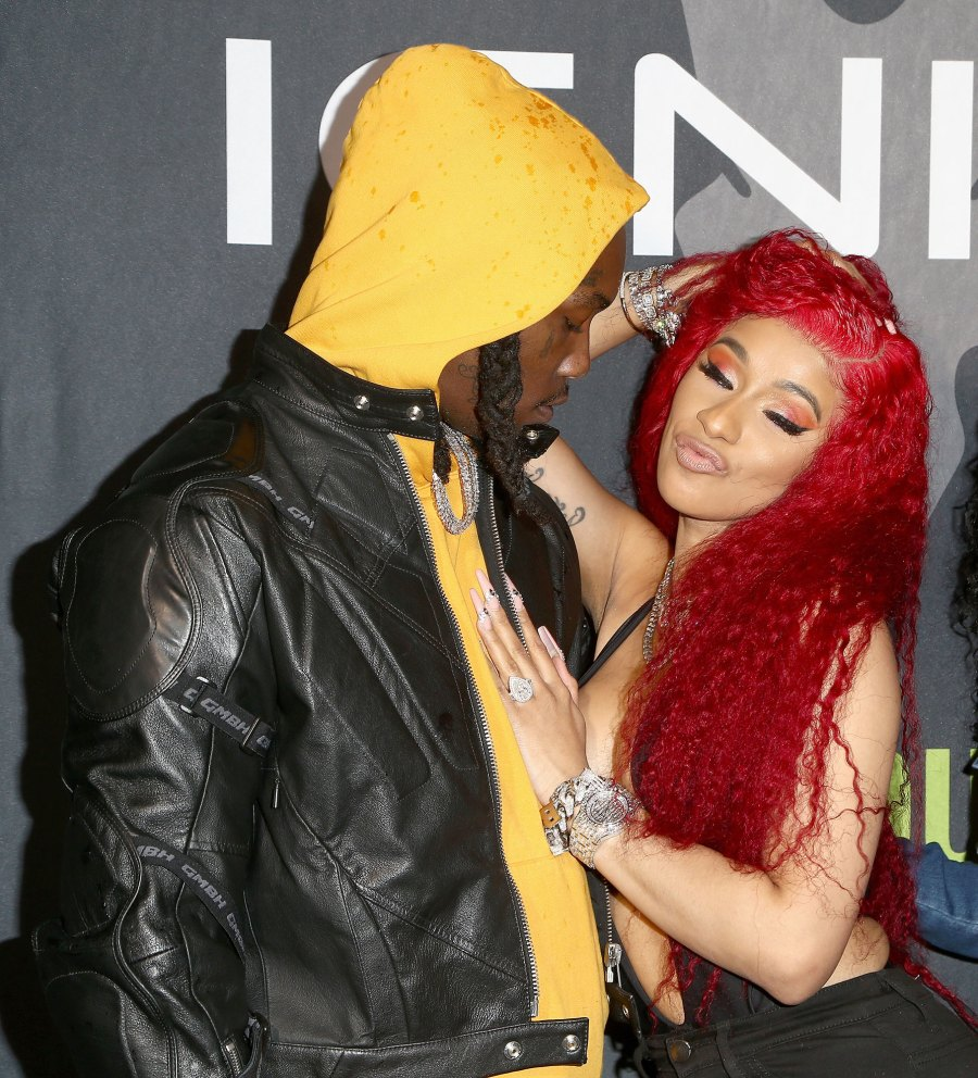 Cardi B Puts Wedding Ring Back on Following Brief Split from Husband Offset