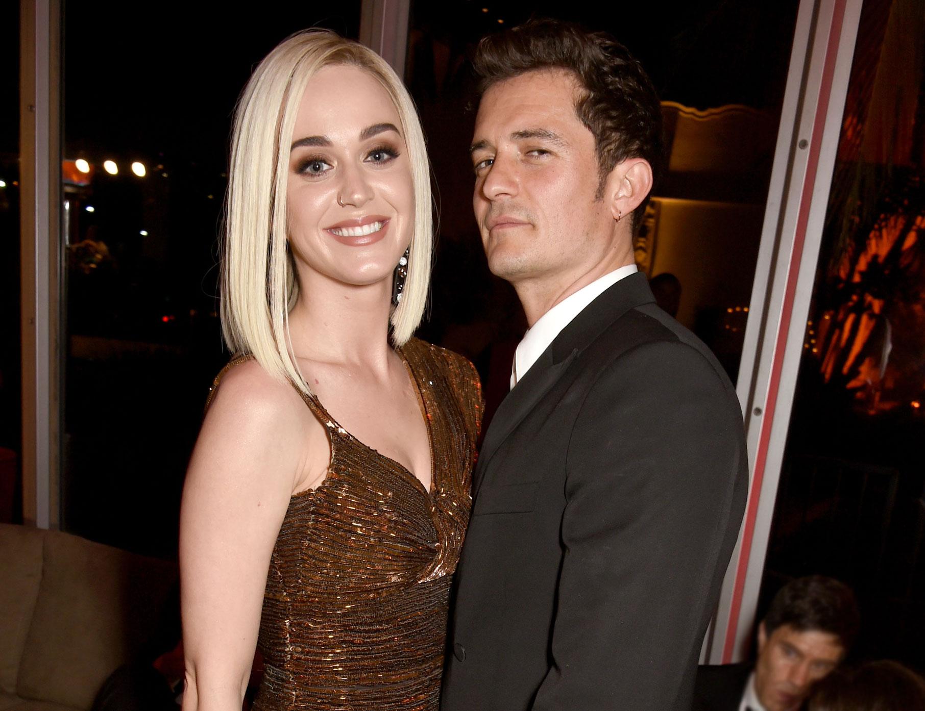 Celeb Engagements of 2019 Katy Perry Orlando Bloom - Katy Perry, Orlando Bloom