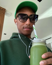 Celebrities Who Swear by Celery Juice: Pharrell Williams, Jenna Dewan and More Drink the Wellness Trend