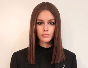 Celebrity Hair Transformations of 2019 Kaia Gerber