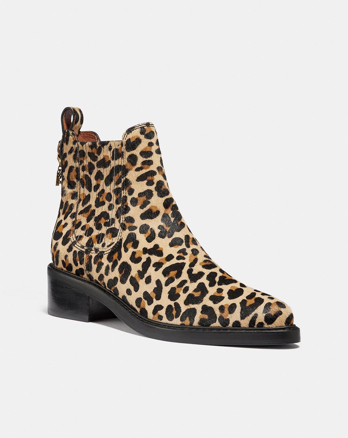 Coach Leopard Boots