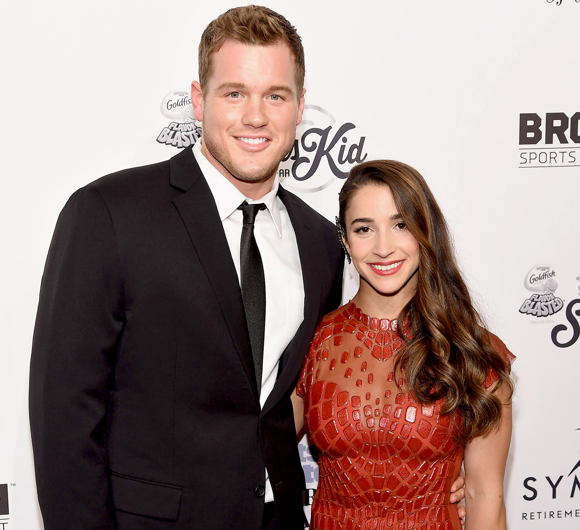 Colton-Underwood-talks-ex-Aly-Raisman - Colton Underwood and Aly Raisman attend the 2016 Sports Illustrated Sportsperson of the Year at Barclays Center of Brooklyn on December 12, 2016 in the Brooklyn borough of New York City.