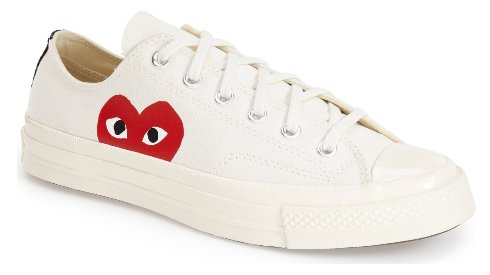 907ee5331143a3 This Vintage-Inspired Converse X Comme des Garcons Sneaker Is Just Too Cute
