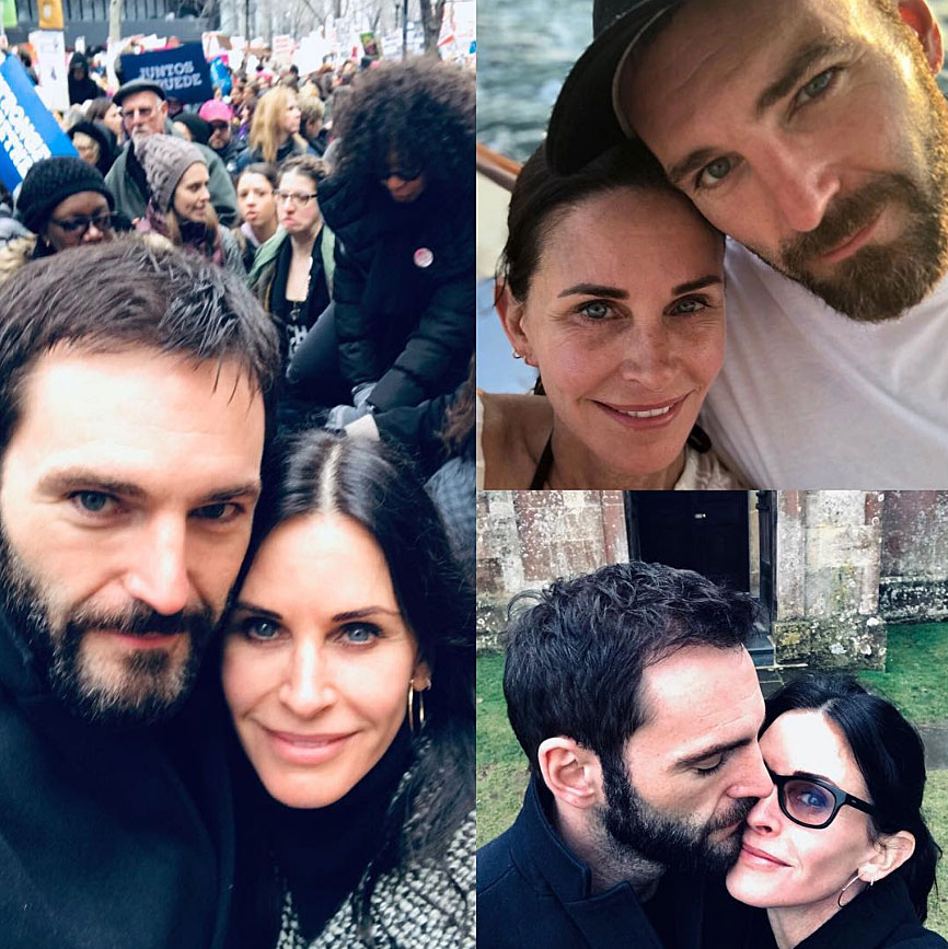 "Courteney Cox More Celebs Post Tributes to Their Loves on Valentine's Day - ""Happy Valentine's Day my ♥️ I love you J xx,"" the Friends alum captioned a collage of selfies with her boyfriend."