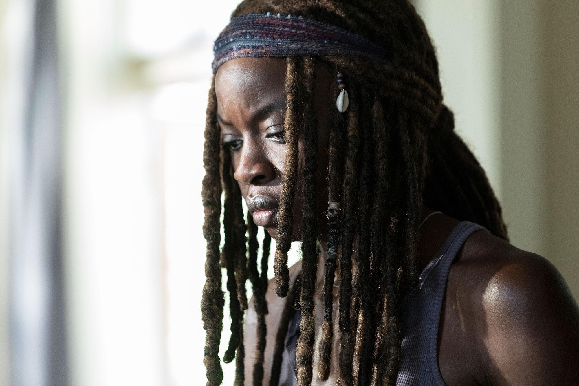 Danai Gurira the walking dead - Danai Gurira as Michonne – The Walking Dead _ Season 9, Episode 5