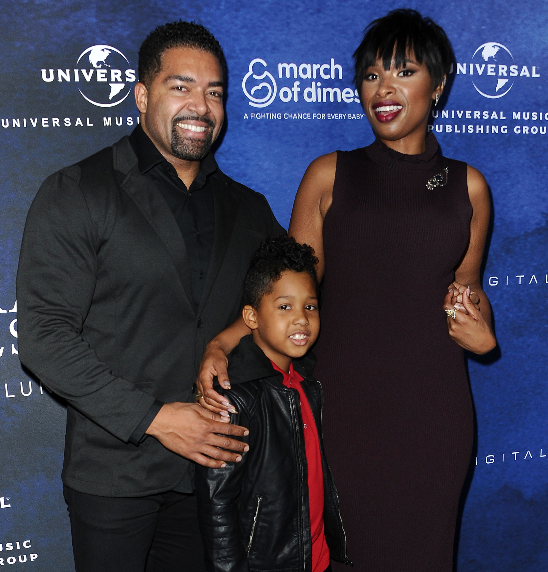 David Otunga Reveals the Ways His 9-Year-Old Son With Ex Jennifer Hudson Takes After Him - David Otunga, Jennifer Hudson and son David Otunga Jr. attend the 2016 March of Dimes Celebration of Babies at the Beverly Wilshire Four Seasons Hotel on December 9, 2016 in Beverly Hills, California.