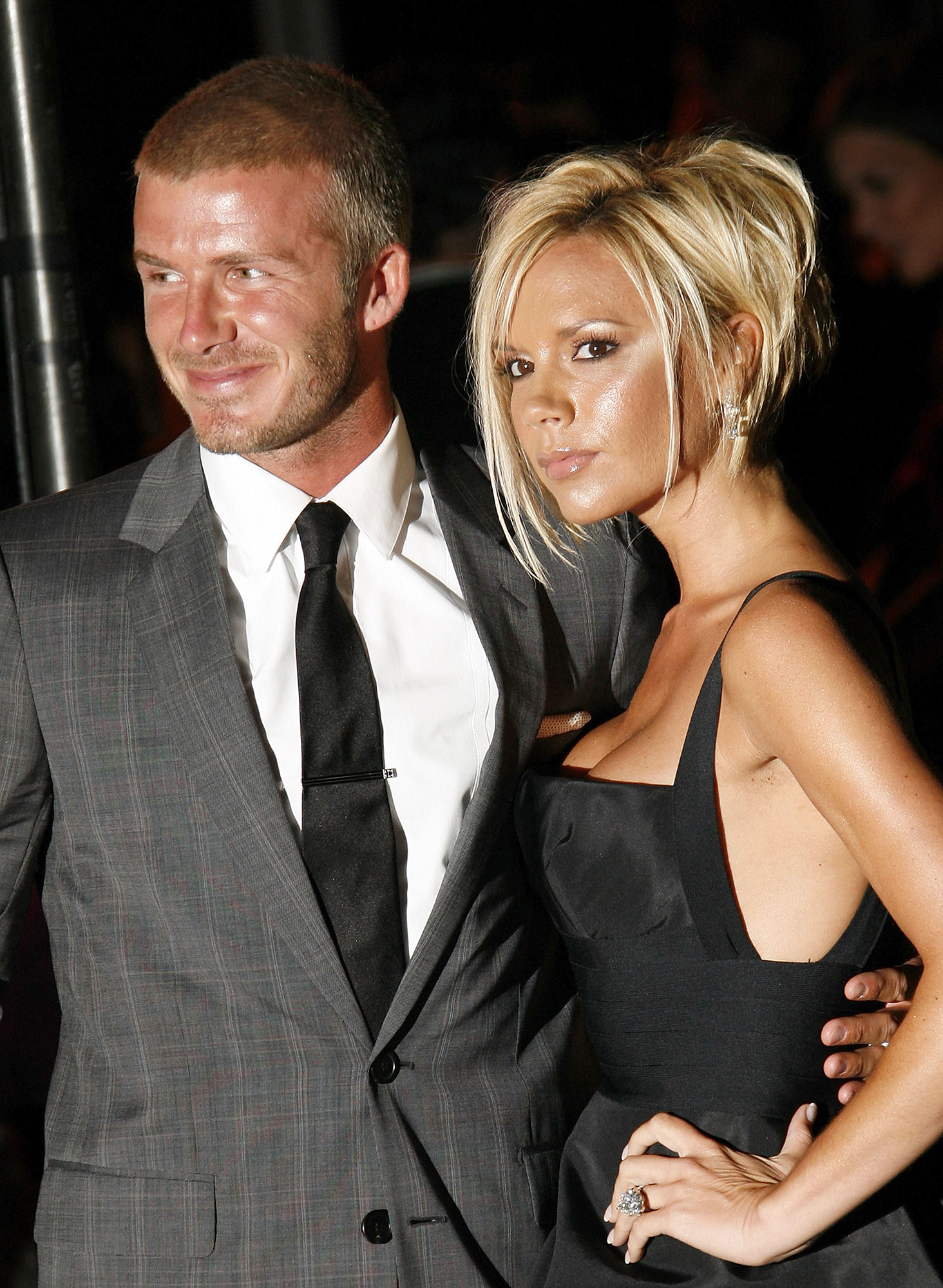 Victoria and David Beckham timeline gallery - Big changes were on the horizon for the Beckhams once more in 2007: David joined the L.A. Galaxy team, resulting in a relocation to sunny California.