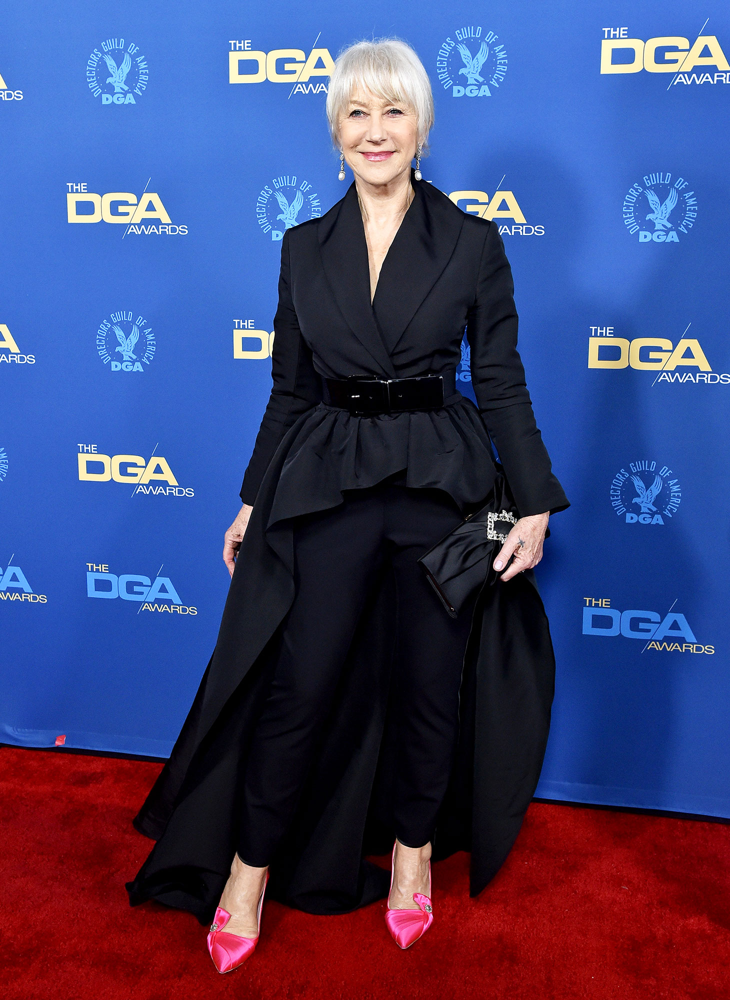 Helen Mirren attends the 71st Annual Directors Guild of America Awards at The Ray Dolby Ballroom at Hollywood - The dame proved she's still got it in a fabulous Brandon Maxwell number and pink pumps for the perfect bit of pop.