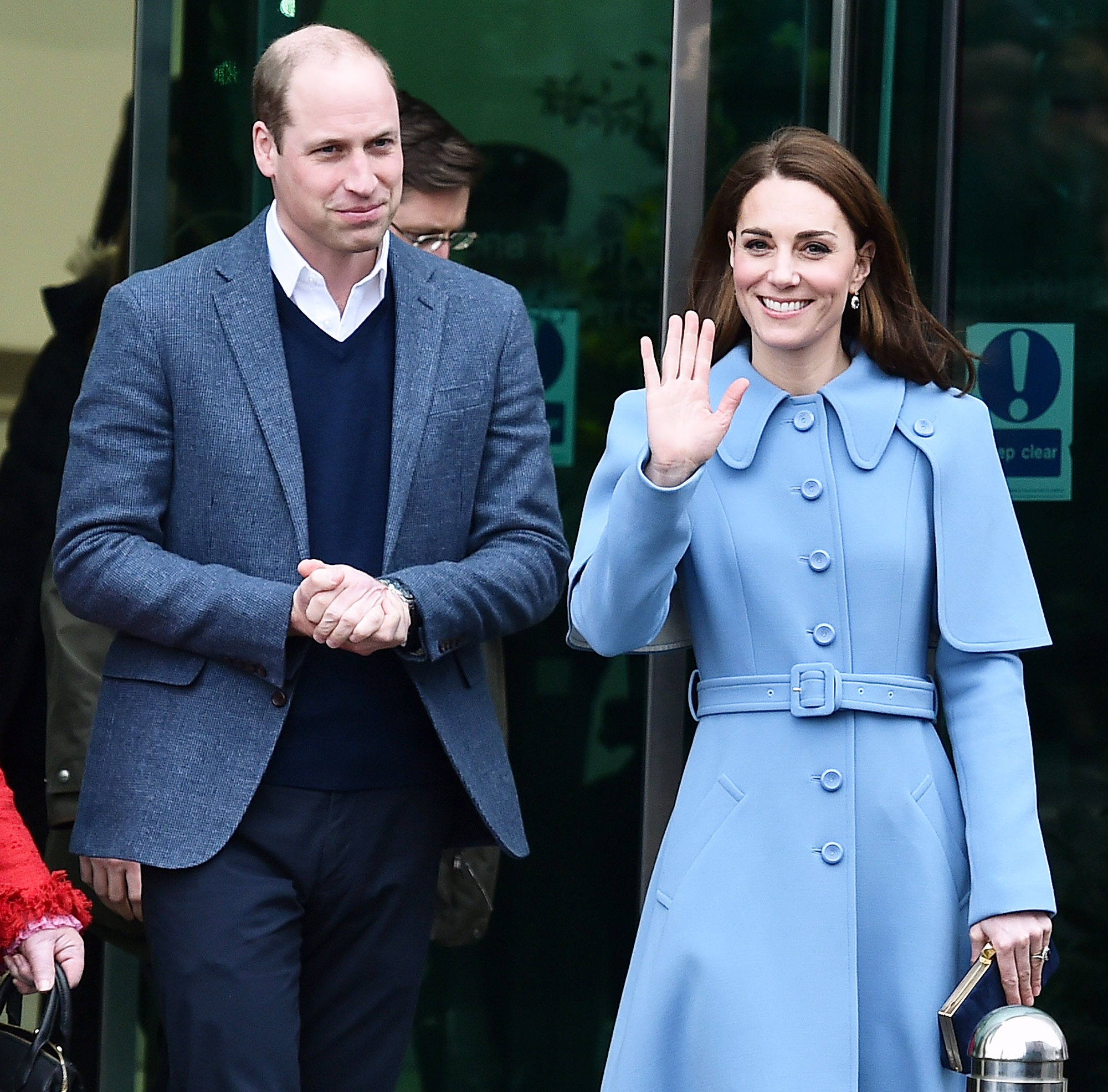 d23af94de18 Duchess Kate Hints She s Ready for 4th Baby With Prince William