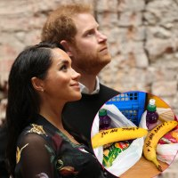 Duchess Meghan's Obsession With Bananas Continues as She Writes Inspirational Messages on the Fruit