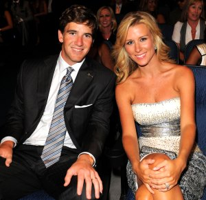 Eli Manning and Wife Abby McGrew Welcome Baby No. 4, Their First Son, on Super Bowl Sunday