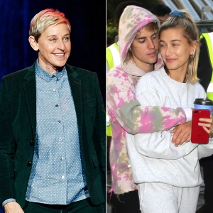 Ellen DeGeneres Hilariously Roasts Justin Bieber and Hailey Baldwin's Vogue Cover