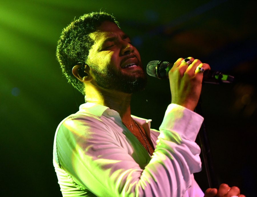'Empire' Star Jussie Smollett Performs at Emotional Concert After Homophobic Hate Crime