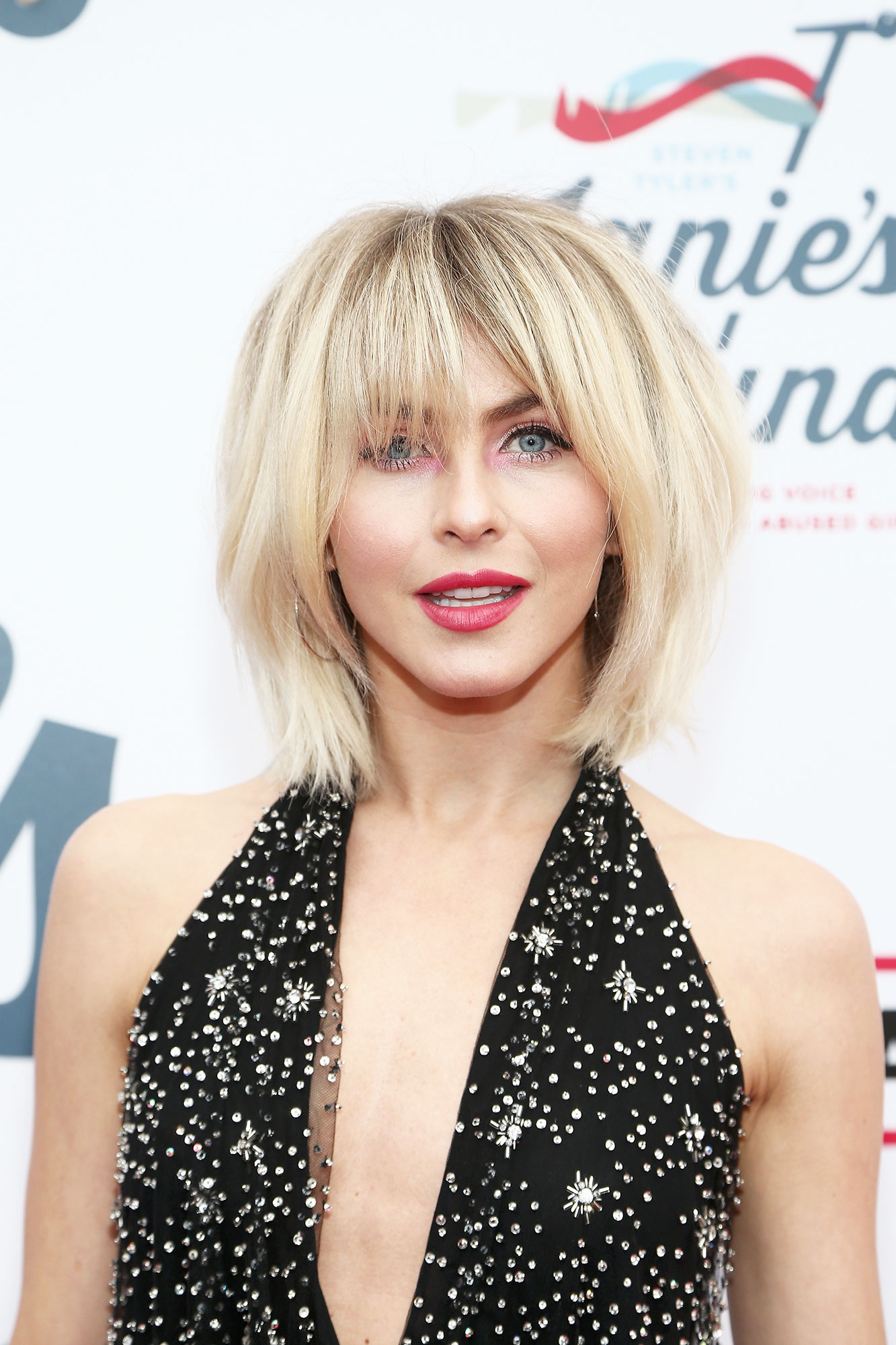 Julianne Hough Celebrity Bangs: Fierce Fringe Inspo For Your Next Haircut - After initially having her go-to hair pro Riawna Capri cut bangs last fall, the new America's Got Talent judge showed off a piecier and more grown-out shag at a 2019 Grammys event.