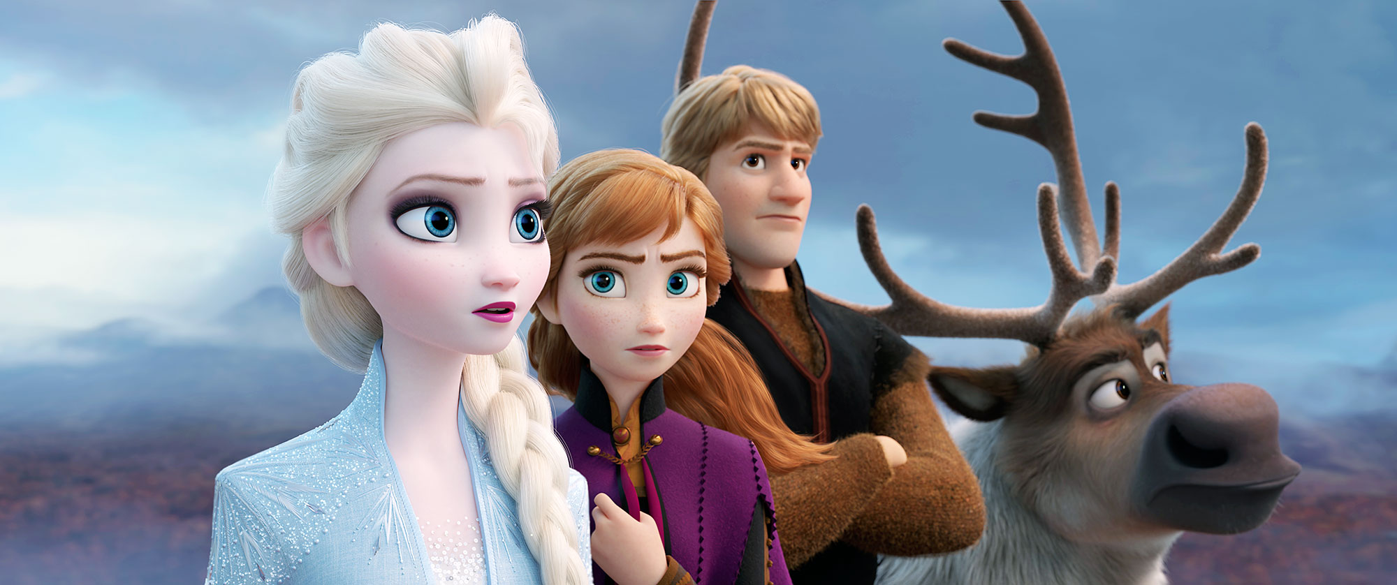 Elsa, Anna and Kristoff Return in the Dramatic First Trailer for Disney's 'Frozen 2'